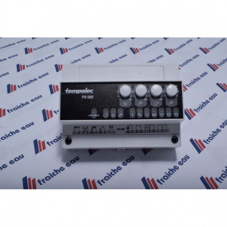 la PS005 de TEMPOLEC gère le fonctionnement de la chaudière  pour la production d'eau chaude sanitaire