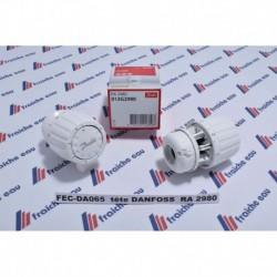 robinet de vanne thermostatique  DANFOSS pour radiateur de chauffage central