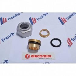 ecrou universel M18 x tube cuivre / acier ø 15 mm chauffage et sanitaire
