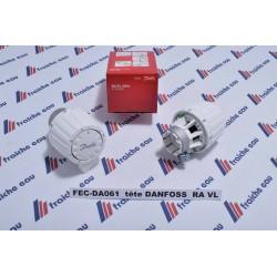 bouton DANFOSS  pour vanne thermostatique de radiateur RAVL 2950 à seraing, marche, la louviere, tournai, enghien