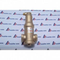 séparateur de micro bulles PNEUMATEX, purgeur automatique , dégazeur placement horizontal