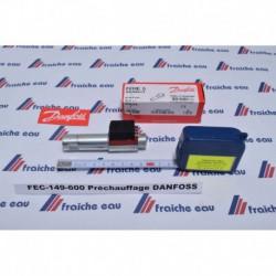 préchauffage de ligne pour DANFOSS brûleur fuel FPHE 5 / M16 - ø18,2