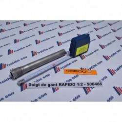 doigt de gant en inox 100 et 150 mm pour toutes les chaudières  RAPIDO gaz et fioul  GA100 / GA110