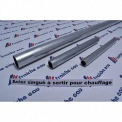 tube acier zingué ø18 mm  longueur 2 metres prix au mct