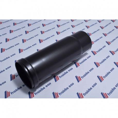 tube diamètre 80 coulissant à joint pour poêle à pellets , utilisation à l'intérieur de l'habitation