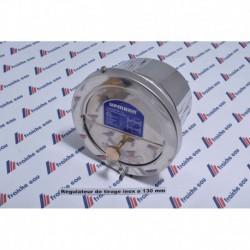 régulateur / modérateur de tirage inox  ø130 mm