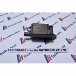 transformateur haute tension 503173  SATRONIC - HONEYWELL  ZT 870 pour chaudière RAPIDO  série GA  200