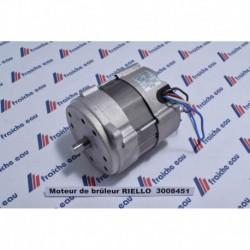 moteur de brûleur à mazout RIELLO 3008451 en échange standard