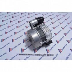 moteur de brûleur WL5 WEISHAUPT 75 watts type ECK-02 652090