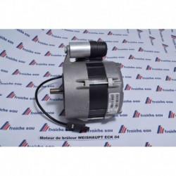 moteur de brûleur WL 20 C - WG20 C    WEISHAUPT 75 watts type ECK-04