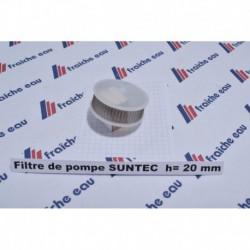 filtre de pompe SUNTEC type AL / AN  hauteur 20 mm
