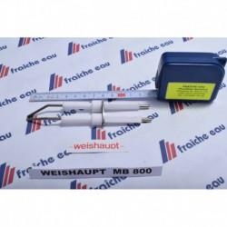 électrode haute tension d'allumage  pour brûleur PURFLAM  WEISHAUPT à flamme bleue