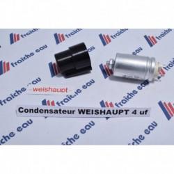 condensateur 4 µf de démarrage pour moteur de brûleur WEISHAUPT