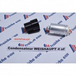 condensateur de démarrage 4 µf WEISHAUPT