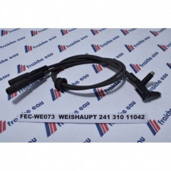 câble haute tension WEISHAUPT long:600 mm  passe câble rond 241 310 11042