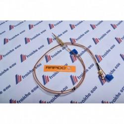 thermocouple RAPIDO / FERROLI pour chaudière atmosphérique ,  avec contact de sécurité pour la vanne gaz
