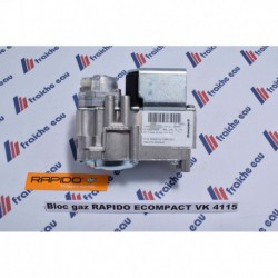 bloc /vanne  gaz  VK 4115 V 1139 RAPIDO  econpact