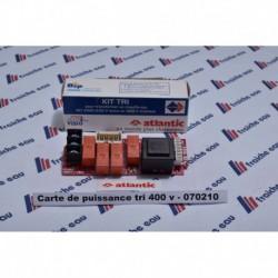 plaquette électronique / platine/ boiler BULEX / ATLANTIC /tri 400