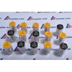 gicleur FLUIDICS cône SF-HF  de 45°-60° - 80° de 0,35 à 0,40 gal/h bruxelles ,mons, liège, jumet, gosselies   belgique