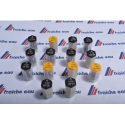 gicleur en inox pour brûleur de chauffage FLUIDICS cône SF-HF de 45°-60° - 80° de 0,65 à 1,25 gal/h