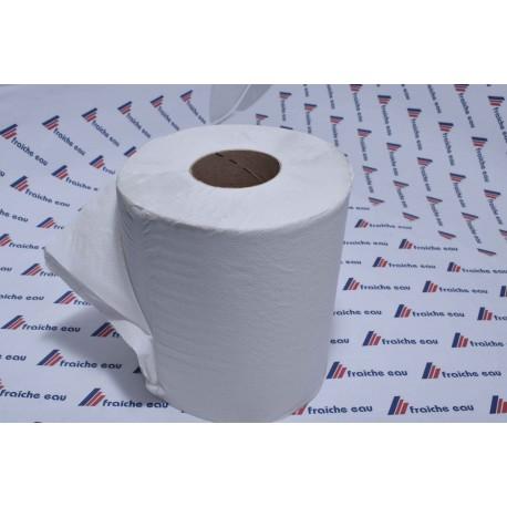 rouleau papier essuyage blanc  multi usages  absorbant essuie tout ,  ø 25 h 27 cm