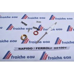 détecteur de courant ionique de la flamme avec la sonde ionisation  RAPIDO  551001