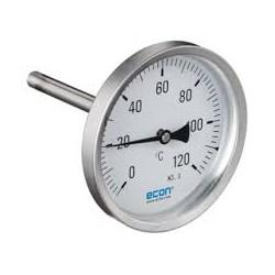 thermomètre à aiguille pour doigt de gant capteur 45 mm