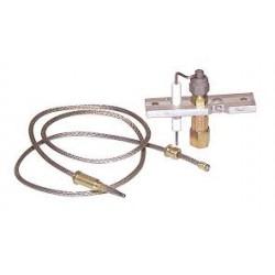 support de veilleuse SAINT ROCH  , thermocouple et électrode à commander séparément