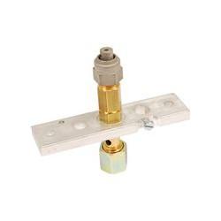 support de veilleuse sans injecteur ZAEGEL HELD nu , thermocouple et électrode d'allumage à commander séparément