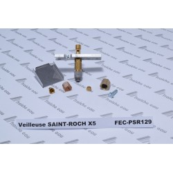 kit veilleuse chaudière  SAINT ROCH type  X 5 avec injecteur gaz naturel , sans électrodes
