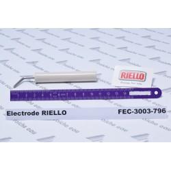électrode à arc électrique haute tension RIELLO 3003796 , bougie d'allumage de brûleur de chauffage mazout