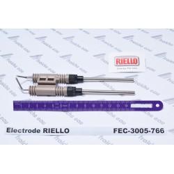 électrode haute tension d'allumage RIELLO 3005766 , électrode à arc de brûleur au fioul domestique