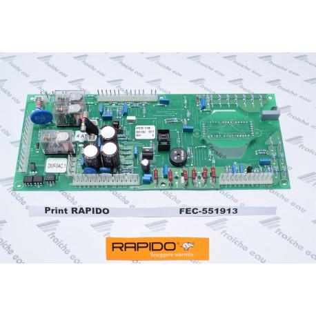 print RAPIDO DMF04C1  hauptplatine für gasketel , circuit électronique , printplaat, 551913 ,platine de chaudière à condensation