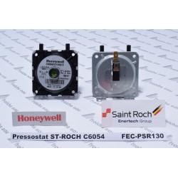 pressostat HONEYWELL C 6054 de chaudière à ventouse saint roch FH 1250 B , détecteur de pression,