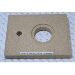 isolation de porte ACV 51404006 pour chaudière fioul BNE 2 PR ,vermiculite  réfractaire avant de porte foyère
