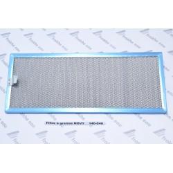filtre  métallique de hotte NOVY type 140.040 à  jodoigne, perwez, feluy, virton, louvain , warneton , libramont, bernissart