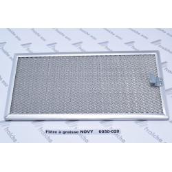 filtre à graisse  6050-020 de hotte NOVY à Virton,liège, La Louvière, Mouscron, Herstal, châtelet , Ath, Huy,