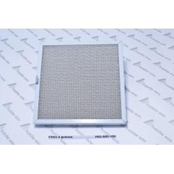 filtre à graisse métal lavable , tamis filtrant pour hotte aspirante  de cuisine NOVY 906-109 dimensions 247  x 247 mm