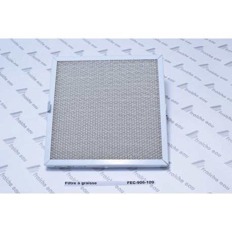 filtre à graisse , tamis, grille métallique type 906-109 pour la