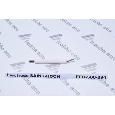 électrode d'allumage haute tension saint roch ,bentone  enertech, 43021, bougie d'allumage zaegel Held