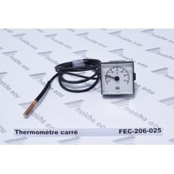 thermomètre carré à rixensart, la Hulpe, genval, louvain ,ottignies, gembloux, nivelles, perwez, feluy
