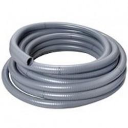 tube PVC flexible diamètre 50 mm rouleau de 12 mètres  pour piscine, étangs, jardin aquatique,