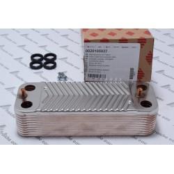 échangeur à plaques BULEX-SAUNIER DUVAL à 20 plaques 0020105937 pour la production directe d'eau chaude sanitaire chaudière