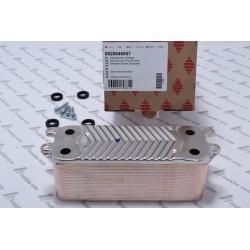 échangeur pour la production sanitaire directe à 28 plaques,  BULEX 0020046957 et la chaudière SAUNIER DUVAL en france