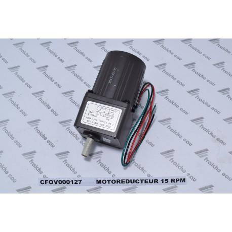 moteur réducteur CFOV000127 de la vis d'alimentation du brûleur et du racleur de la chaudière à pellets  DOMUSA