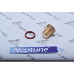 bouchon de l'orifice de remplissage en laiton avec joint pour la pompe NEPTUNE pour amorcer le groupe hydrophore
