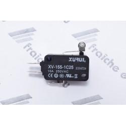 micro contact  CELC000332 pour la  position du tiroir GRINDER du brûleur dans chaudière DOMUSA  NG, interrupteur de position