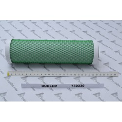 manchon filtrant 730330  DURLEM filtration finale très fine combinée avec charbon activé naturel , joints plats ,pourTRIPLEX
