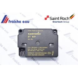 transformateur haute tension , générateur d'étincelle à haute fréquence HONEYWELL SATRONIC ZT 931
