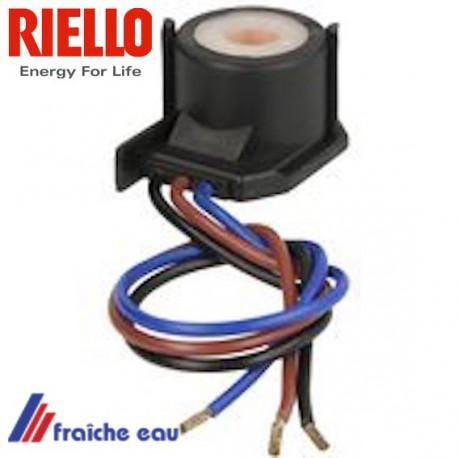bobine pour l'électro vanne de brûleur fioul RIELLO MECTRON article  3002279
